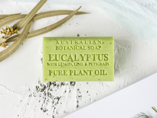 Eucalyptus with Lemon, Lime & Petigrain soap