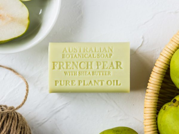 French Pear with Shea Butter soap