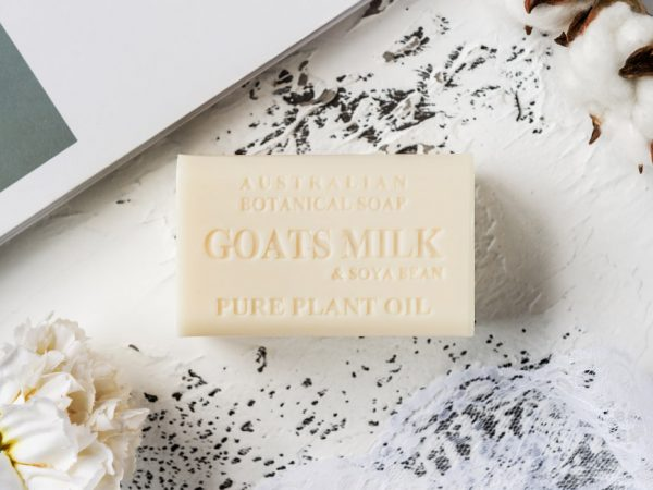 Goats Milk & Soya Bean soap