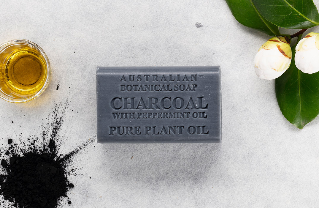 Charcoal with Peppermint Oil
